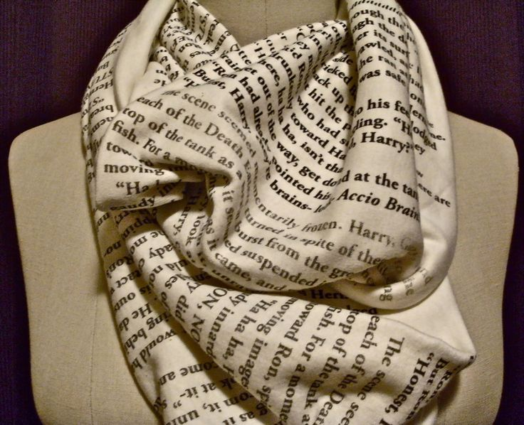 Harry Potter quote scarf!!!