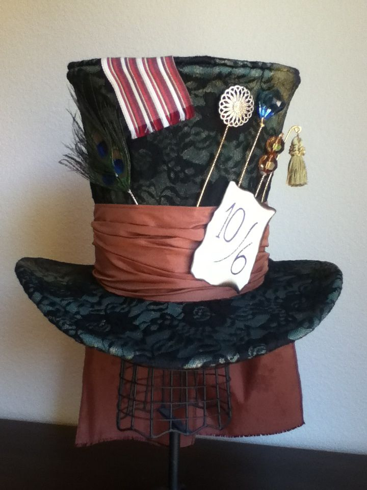 Tim Burton's Mad Hatter Hat by PandoraLuv.deviantart.com on @deviantART