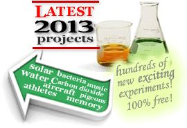 All Science Fair Projects.......Science Fair Projects For Teachers, Parents and Students of all ages!