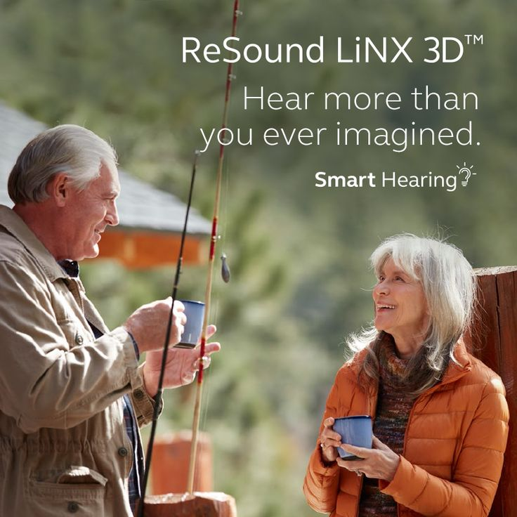 ReSound LiNX 3D Hear more than you ever imagined.