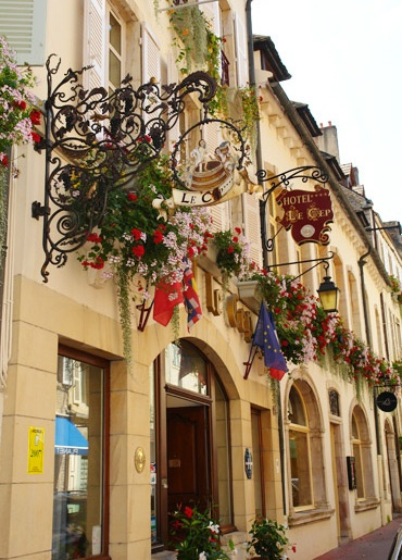 Le Cep Hotel - Beaune France. This is where we stayed for out 25th Anniversary!