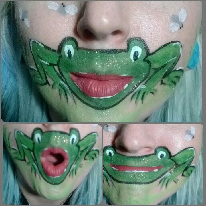 Silly frog mouth