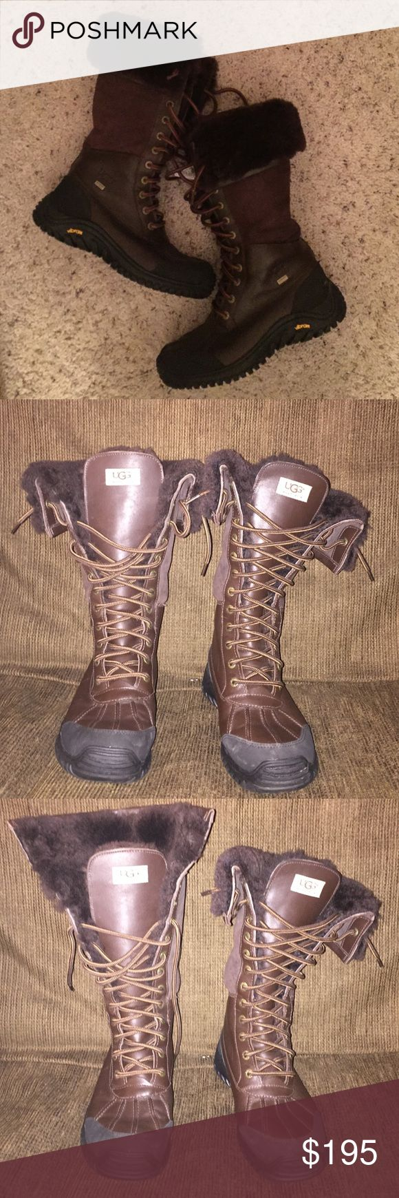 Authentic Ugg Adirondack boots Like new, maybe worn 3 times. Size 8, waterproof ugg adirondack boot. UGG Shoes Winter & Rain Boots