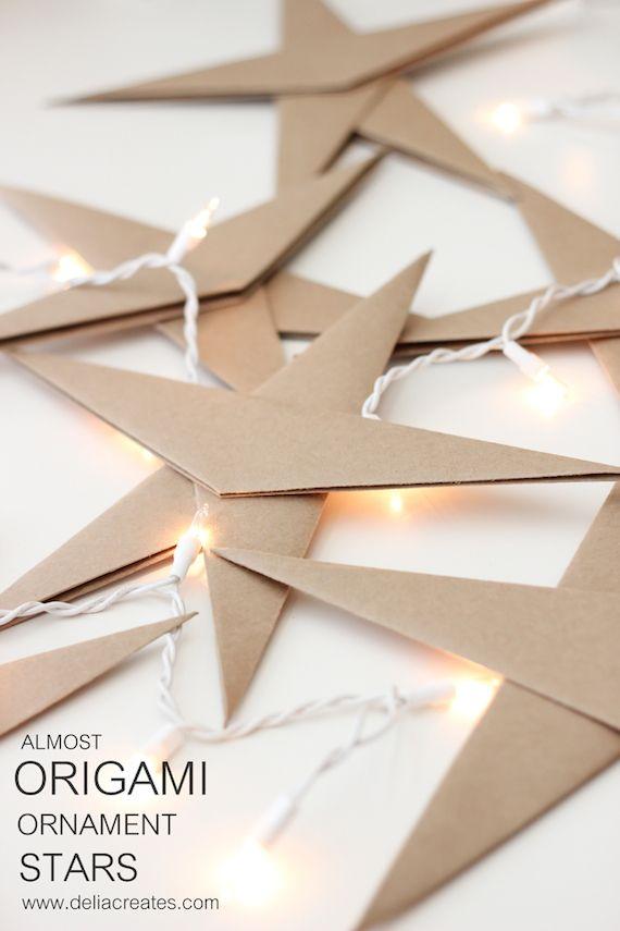 como hacer estrellas de origami