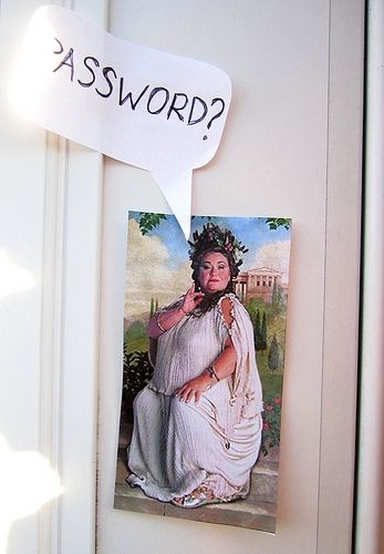 I may do this on my office door.