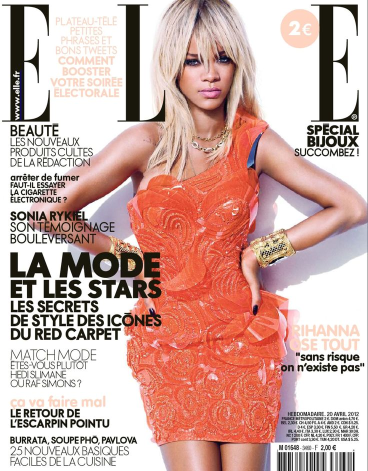 Rihanna Cover ELLE France 2012