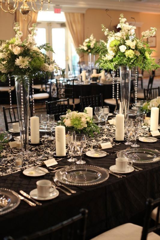 17 best le noir et blanc ne manque pas de couleurs images on pinterest wedding ideas place. Black Bedroom Furniture Sets. Home Design Ideas