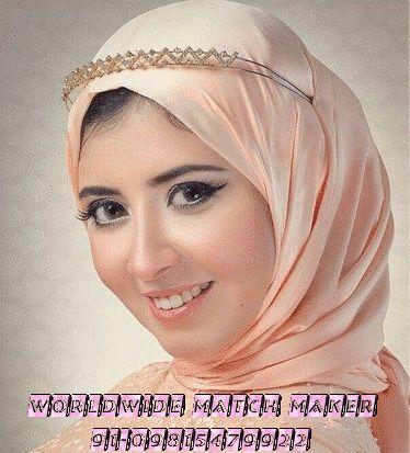 (61) MUSLIM MUSLIM BRIDES & GROOM FOR MARRIAGE 91-09815479922 INDIA & ABROAD