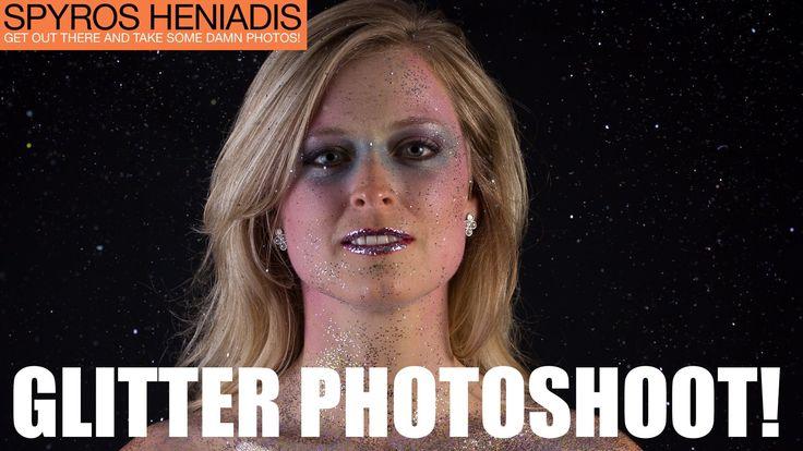 Full GLITTER Portrait Photoshoot | Full Shoot #3