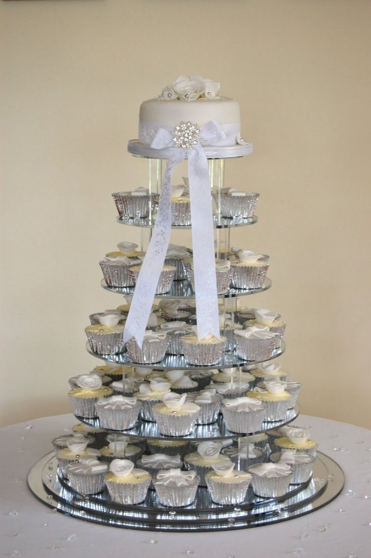 Uncategorized cupcake stands for weddings cheap - Cupcake Wedding Cakes Great Cake Ideas Pictures Cakepins Com