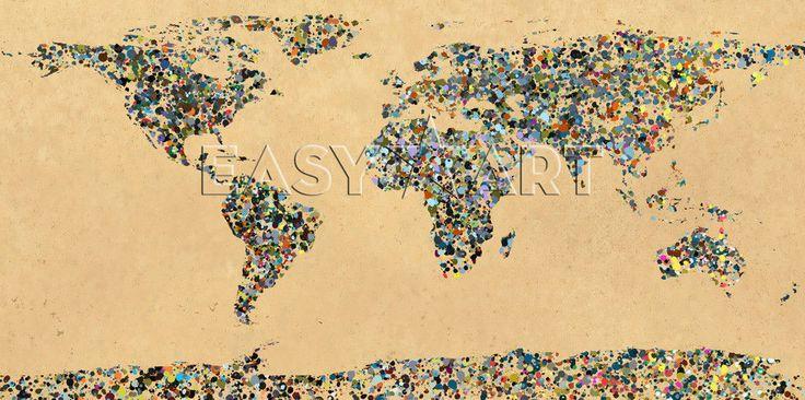 Paint Splatter World  -  Guillermo Gonzalez