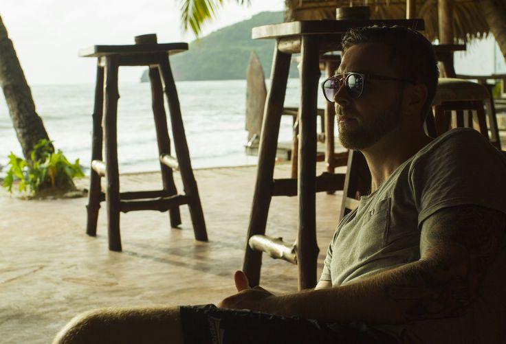 Portrait in a Madagascar bar