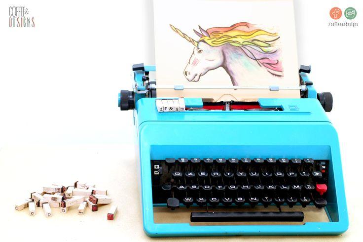 Acquerello Unicorno Arcobaleno | Watercolour Unicorn Rainbow | Dipinto a mano ORIGINALE | Handpainted ORIGINAL | opera su carta | paper art di coffeeandesigns su Etsy