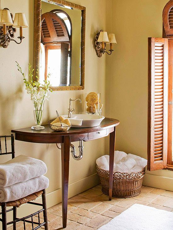 182 best Country Bathrooms images on Pinterest | Bathroom ...