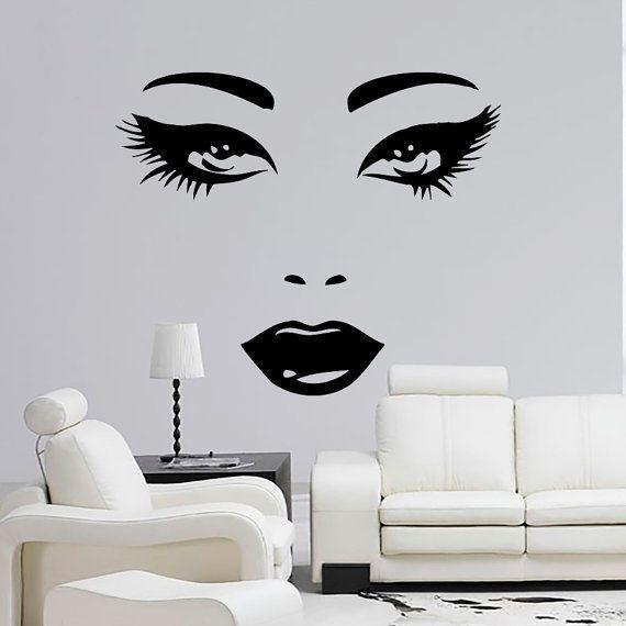 1000 ideas about home beauty salon on pinterest beauty for Vinilos para nenas