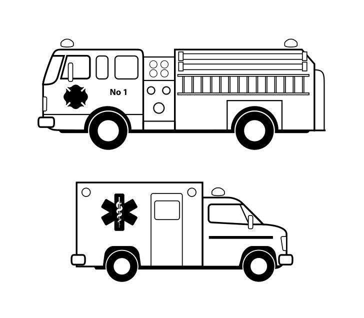 hasičské auto omalovánky - Hledat Googlem