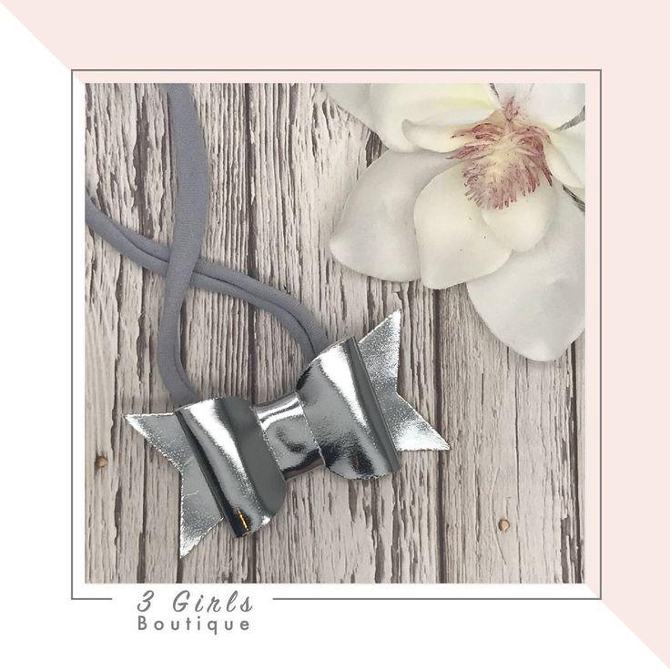 Cute Bow Nylon Headband                      – 3 Girls Boutique