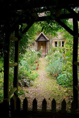 Secret garden, France
