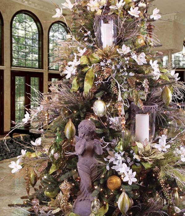 17 Best Images About Christmas Trees: Tuscan/Renaissance