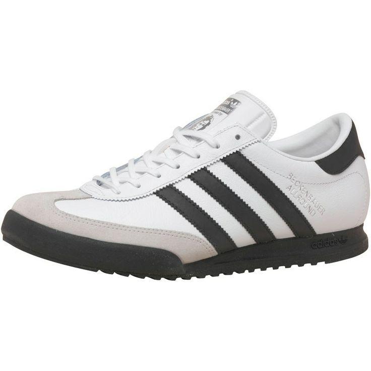 adidas Originals Mens Beckenbauer All Round Trainers White/Black