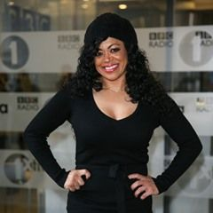 Celebrity Big Brother's Stacy Francis outside BBC Radio 1