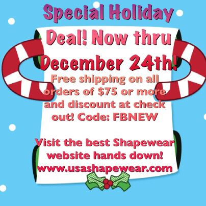 Happy Friday and Happy Holidays friends!!! Don't forget to visit the best online store for your shapewear needs. Providing an extensive line for both men and women. www.usashapewear.com or our sister site www.easyliving100.com #shapewear #fajasamericanas #fajas #fajasamericanasparahombresymujeres #maternity #women #men #womensfashion #mensfashion #compressionwear #gym #lookandfeelgood #instavideo #holidays #abcnews #goodmorningamerica