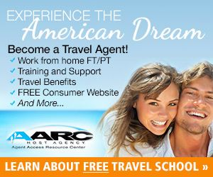 Become a travel agent. Free Travel Agent School
