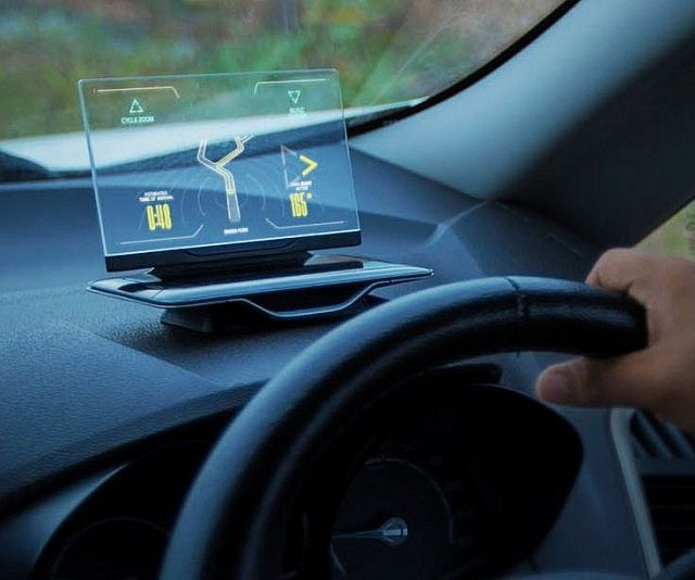 Transparent Heads Up Display