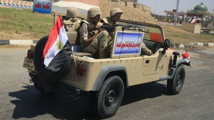 Security forces in Egypt have mistakenly killed 12 people, including Mexican tourists, during an anti-terror operation, the interior ministry says.