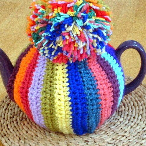 Retro Vintage Tea Cosy Pattern Crochet