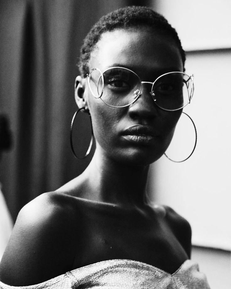 "Via - Trevor (@trevor_stuurman) on Instagram: ""You are your own standard of beauty. - #MirrorWork. | Model @anyonasola for @rich_mnisi"
