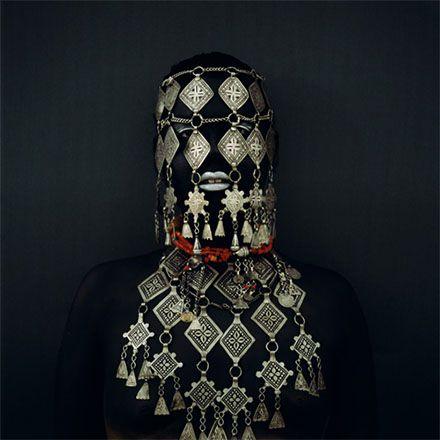 Kimiko Yoshida: Art 24, Berber Bride, Kimiko Yoshida, Silver Berber, Kimikoyoshida, Yoshida Art, Berber Jewellery, Culture Self Portraits, Africans Fashion