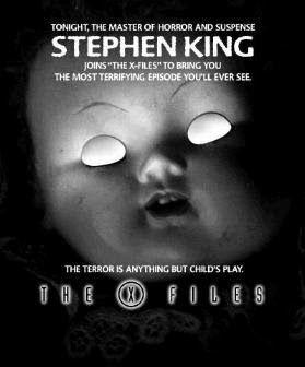 "STEPHEN KING ONLY: ""Chinga"": sceneggiatura X-Files - 1998"