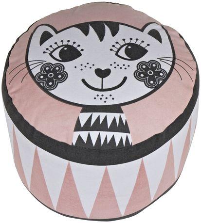 Roommate Sittpuff Cat | Barnrummet Barnmöbler | Jollyroom