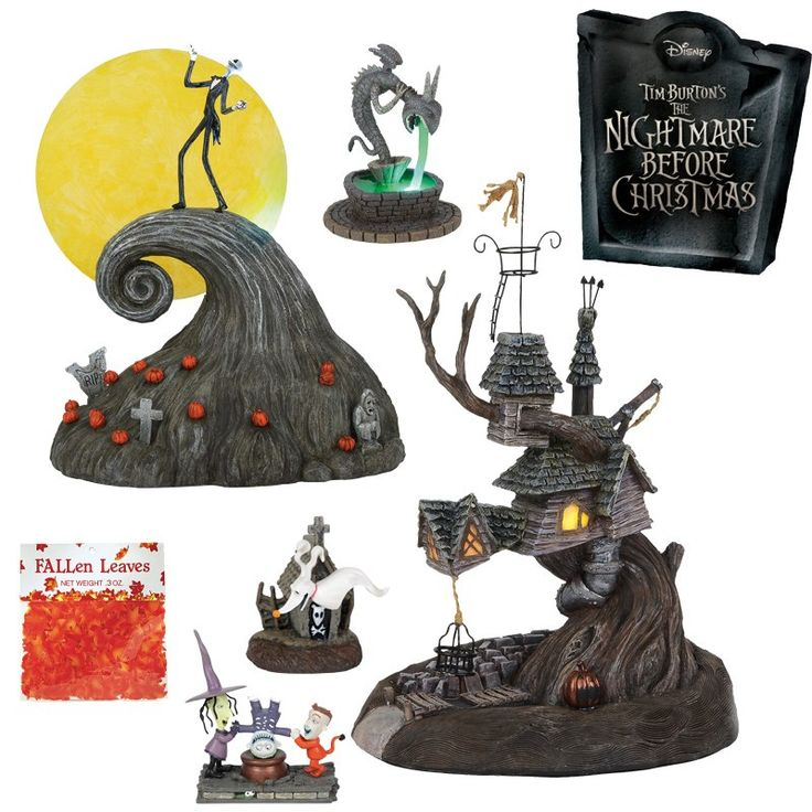 Department 56 the nightmare before christmas village new