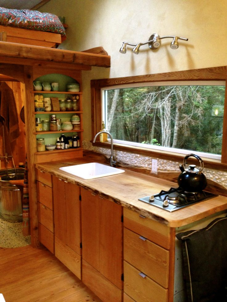 Keva Tiny House, Salt Spring Island, British Columbia, (pinned by haw-creek.com)