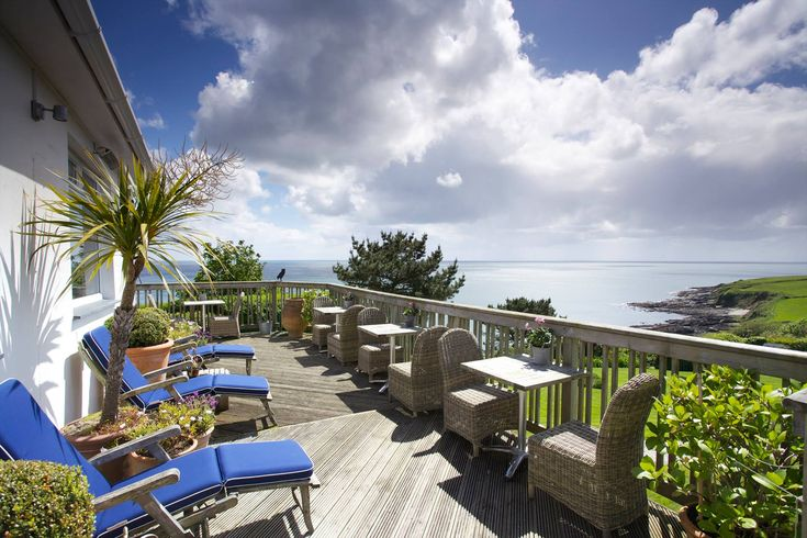 Fancy waking up to #views like this? at Driftwood Hotel near Portscatho, South Cornwall. #stylish and #comfortable with #great #food. Visit: http://ow.ly/SNf630cHKVg #holiday #summer #beach