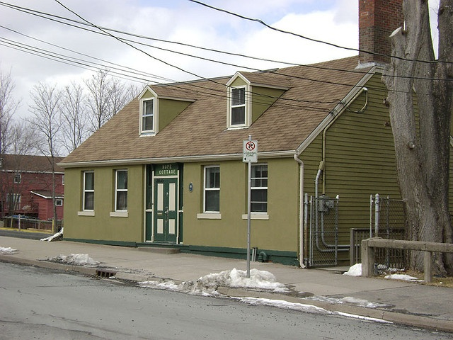 Hope Cottage    Built in1800. Hot meals served to the homeless... Brunswick Street, Halifax, Nova Scotia