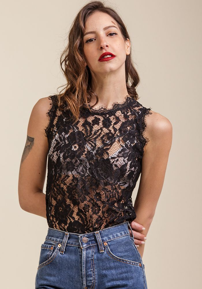 Behind the Lace Top  by myfashionfruit.com
