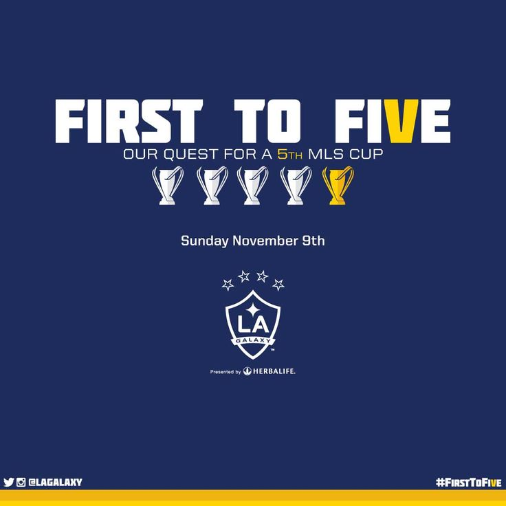 LA Galaxy to host first MLS Cup playoff match on Sunday, November ...