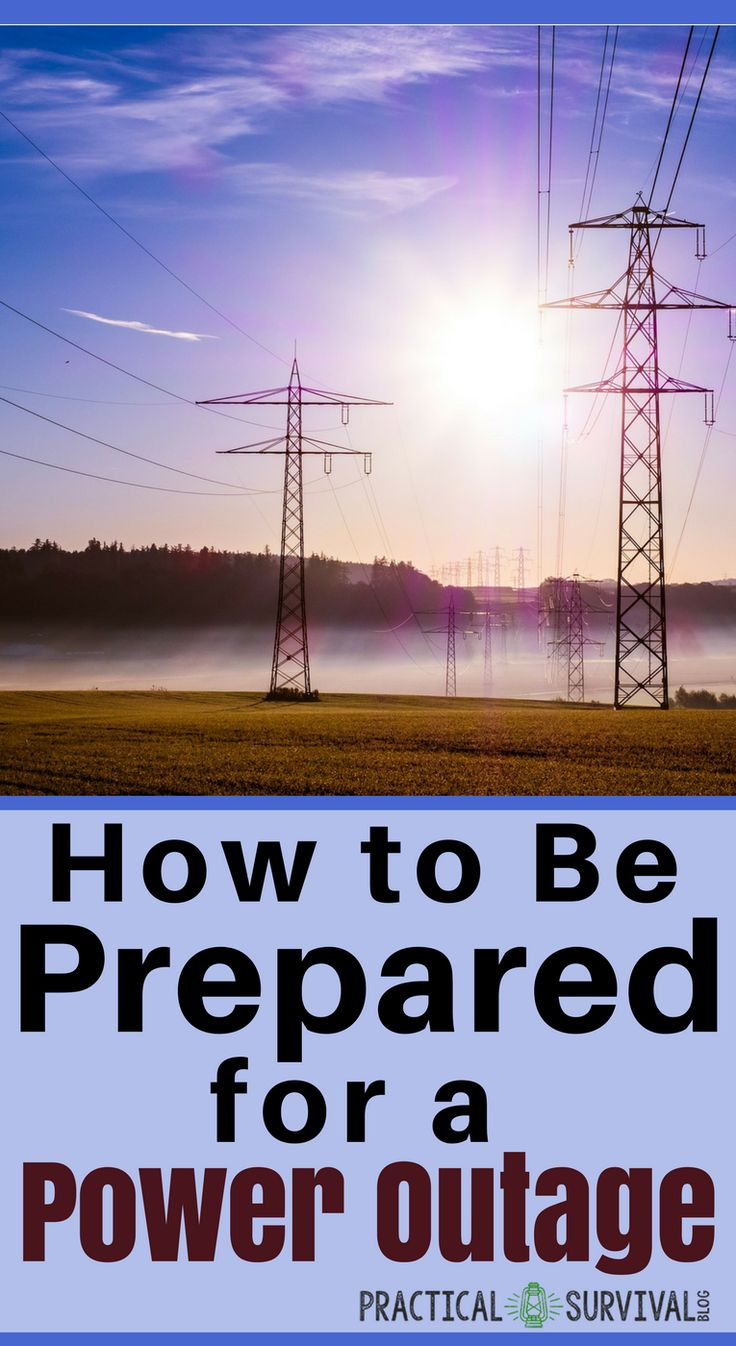 Unless you've ever been without power, you probably don't realize what an important role it plays in your life. For people in the city, power outages mean no heat or air conditioning, refrigeration or means of cooking if they have an electric stove or simply a