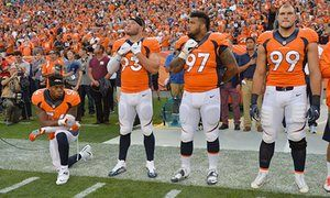 Broncos' Brandon Marshall shares racist, threatening letter he received | Sport | The Guardian