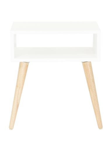 Bring modern style to your living space with this Baxter side table.
