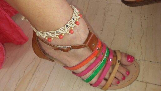 Iliada's sweet whispers- macrame anklet