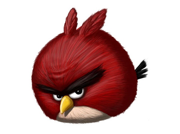 coolA Simple Way To Make Digital Painting Angry Birds #psd #tutorial #photoshop #graphic design by - www.psd5.com