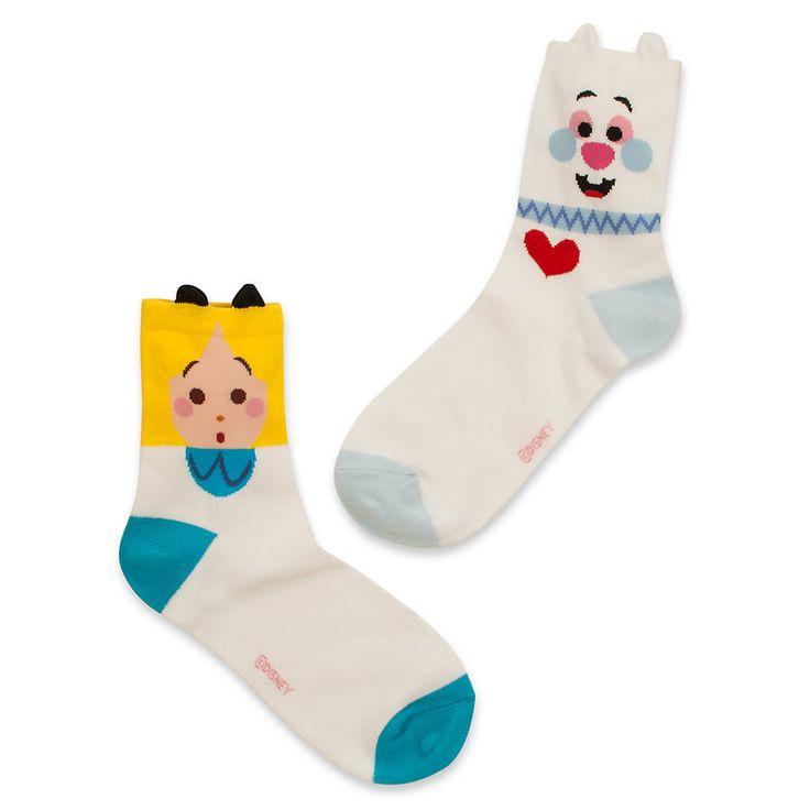 Calcetines de Alicia y el Conejo Blanco