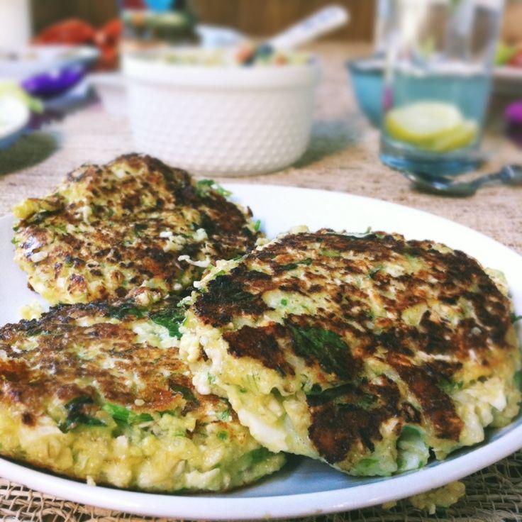 Tortitas de coliflor con quinoa y otras sorpres :) | Sisy Garza