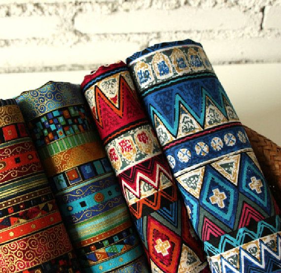 Hey, I found this really awesome Etsy listing at https://www.etsy.com/listing/206070664/african-stripe-cotton-linen-fabric