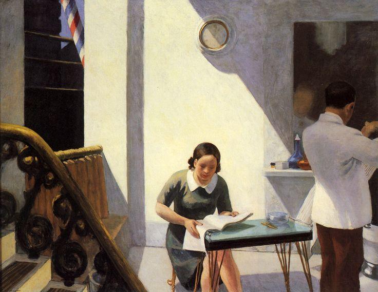 The Barber Shop - Edward Hopper