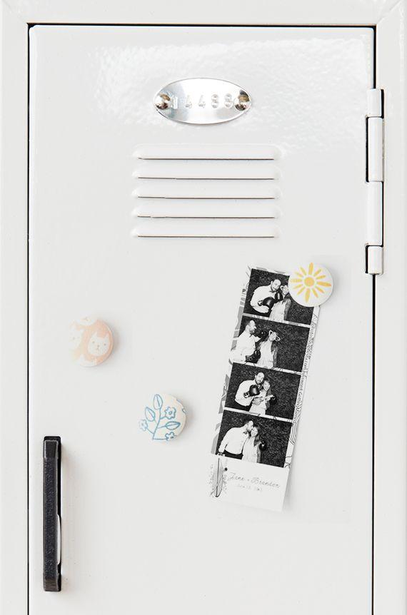 Diy Locker Calendar : Diy fabric locker magnets back to school and